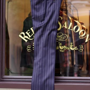 TUXEDO CLOTH STRIPE PANTS