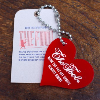 TRUE HEART KEY HOLDER