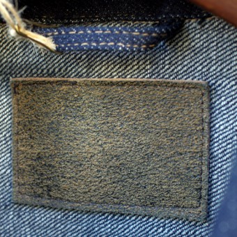 FRENCH COLLAR JEAN JACKET