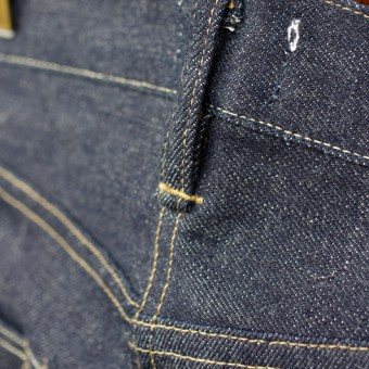 FIVE POCKET TAPERED JEANS