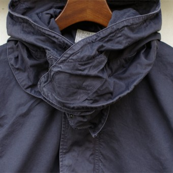 SUPIMA GABERDINE FIELD COAT