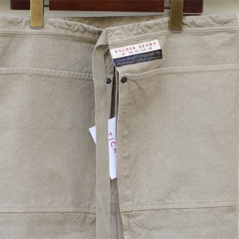 FADED SARONG APRON (OLD JOE x GOLDEN BROWN)