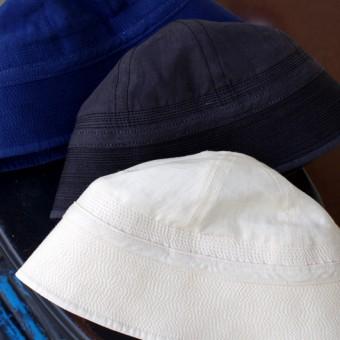 HIGH COUNT LINEN MARINE HAT
