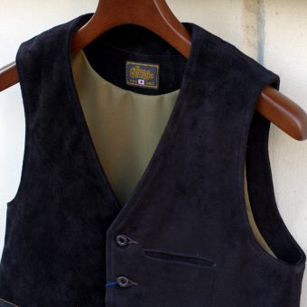 SUEDE LEATHER VEST