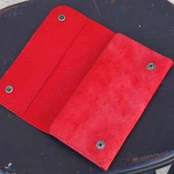 SUEDE WALLET [CHOLOS x RED CAT SALOON]