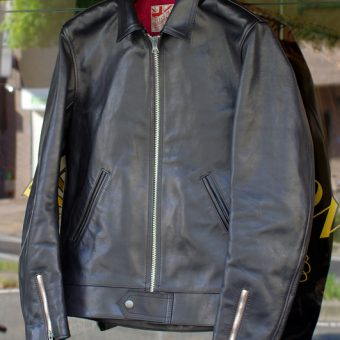 AD-01 HORSE HIDE CENTER ZIP JACKET
