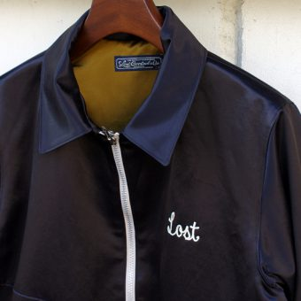 SATIN BLOUSON -ROUGH RIDER-