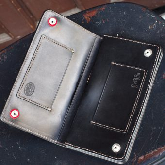 LEATHER WALLET  -LONG-