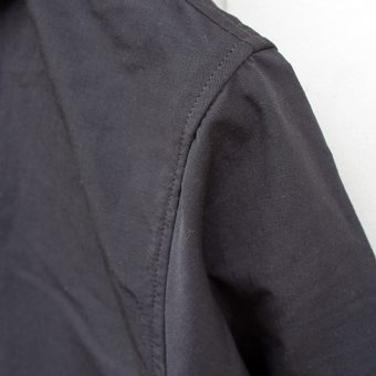 HOODED COACH JACKET -GERUGA-