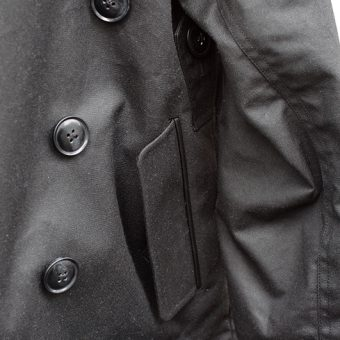 OILED COTTON MOTORCYCLE JACKET