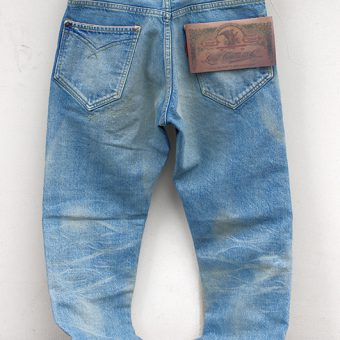 STD STRAIGHT JEANS -VINTAGE WASH-