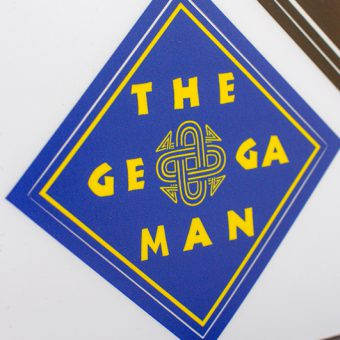 CUSTOM STICKER [THE GERUGA MAN]