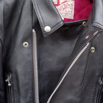 AD-02 SHEEP SKIN DOUBLE RIDERS JKT