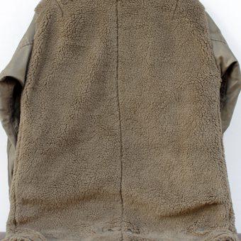 STAND COLLAR BOA COAT