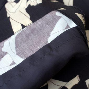 MALE/FEMALE PATTERN HALF PANTS