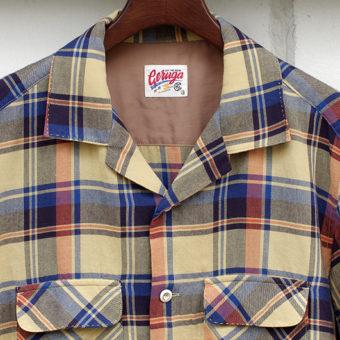 OPEN COLLAR SHIRTS [CHECK]