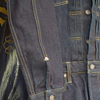 ALL IN ONE [LADY'S] 13.0oz SELVEDGE DENIM