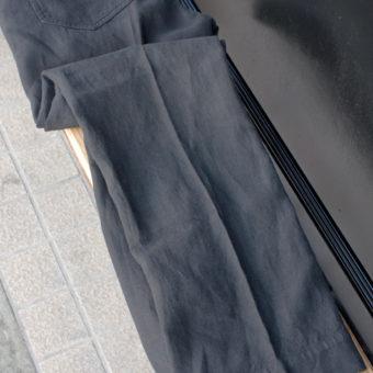 1/25 x 1/25 JAPAN LINEN 鬼オックス STRAIGHT PANTS