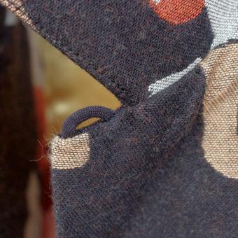 PRO WRESTLER JACQUARD OPEN COLLAR SHIRTS